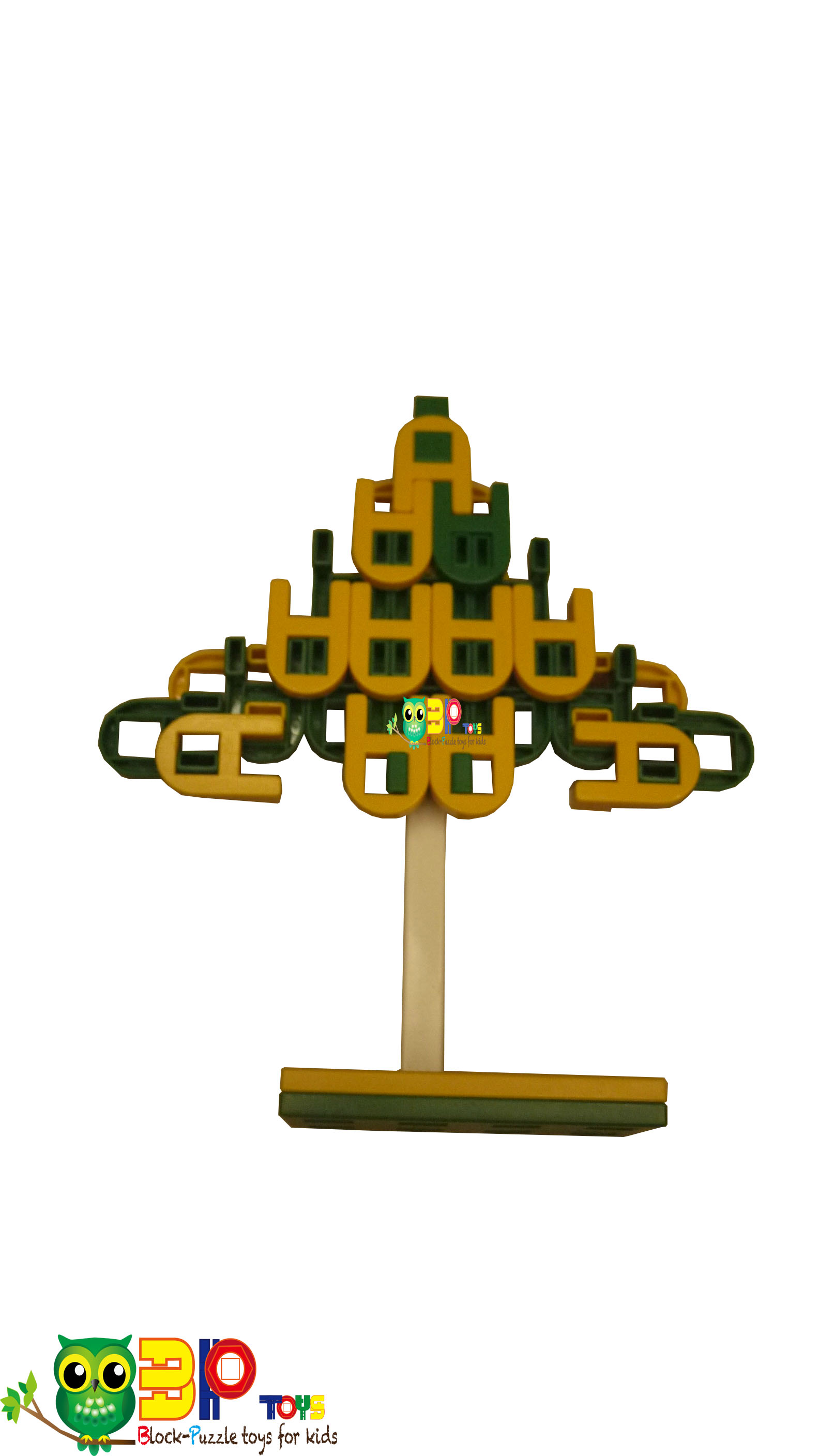 ChrismasTree built by Lasykids Blocks