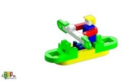 Lasy 積木作品範例