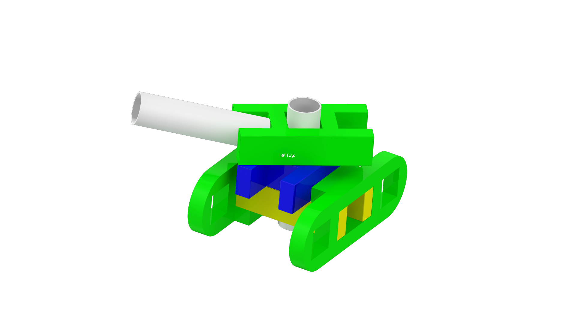 Tank built by Lasykids Blocks
